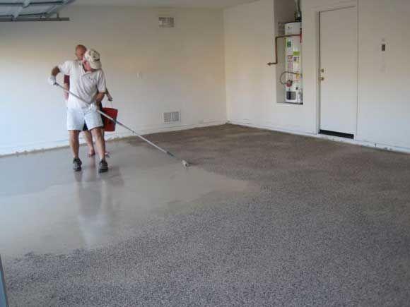 Устраиваем полимерное покрытие пола в гараже - нюансы выбора материалов, основы техники монтажа